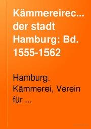 Der Stadt Hamburg kämmereirechnungen der stadt hamburg hamburg kämmerei free