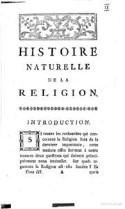 Dissertation sur le sport et la religion
