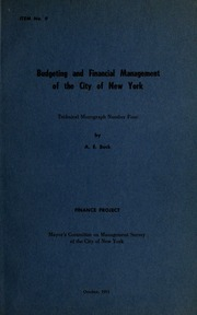 Budgeting and financial man...