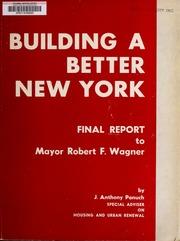 Building a better New York ...
