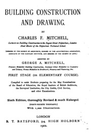 Building Construction and Drawing : Charles Frederick Mitchell