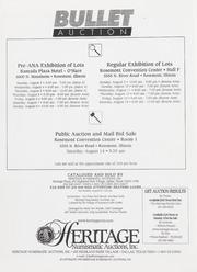 Bullet Auction: American Numismatic Association
