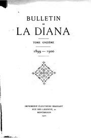 Vol 11: Bulletin de la Diana