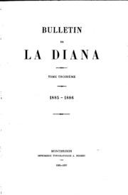 Vol 41: Bulletin de la Diana