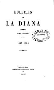 Bulletin de la Diana