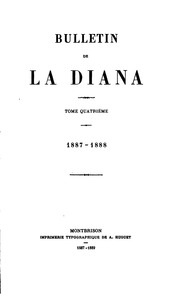 Vol 4: Bulletin de la Diana