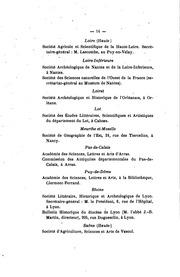 Bulletin de la Société scientifique