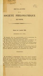 Vol t. 5 -6: Bulletin de la Société philomathique de Paris