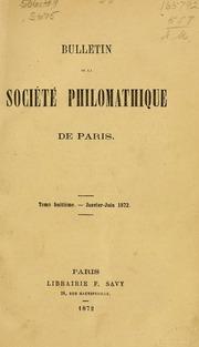Vol t. 8 - 10: Bulletin de la Société philomathique de Paris