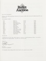 Bullet Auction: Held in conjunction with the 1994 Central States Numismatic Society Convention