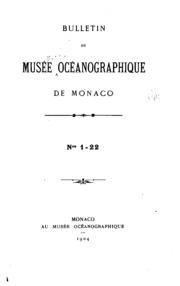 Bulletin de lInstitut océanographique
