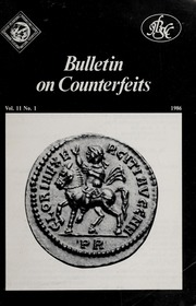 Bulletin on Counterfeits, Vol. 11 No. 1