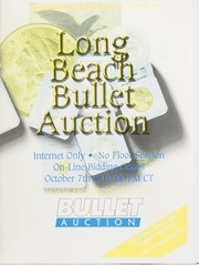 Bullet Auction: Long Beach, October