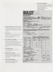 Bullet Auction: Held in conjunction with the 1997 September Long Beach Convention