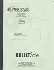 Bullet Auction: Held in conjunction with the February 1997 Long Beach Expo