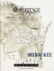 Bullet Auction: Held in conjunction with the Central States Coin Show