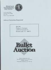 Bullet Auction: Held in conjunction with the 39th Annual FUN Convention