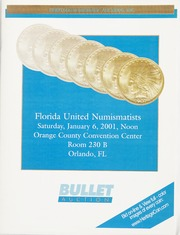 Bullet Auction: Florida United Numismatists