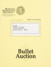 Bullet Auction: Held in conjunction with the 1993 F.U.N. Convention