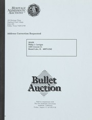 Bullet Auction: Held in conjunction with the Pre-Anaheim, CA