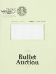 Bullet Auction: Held in conjunction with the 1993 National Gold Convention