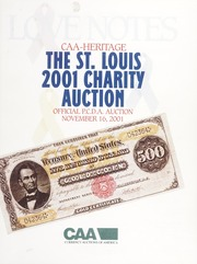 CAA- Heritage St. Louis 2001 Charity Auction