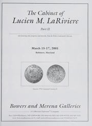 The Cabinet of Lucien M. LaRiviere: Part II