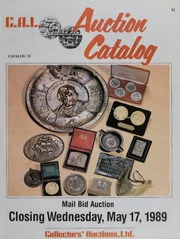 C.A.L. Auction Catalog