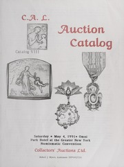C.A.L. Auction Catalog: Catalog 8 (pg. 46)