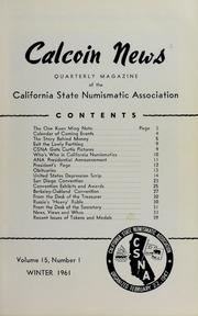 Calcoin News, vol. 15, no. 1