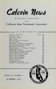 Calcoin News, vol. 16, no. 3