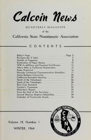 Calcoin News, vol. 18, no. 1