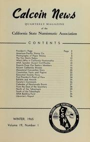 Calcoin News, vol. 19, no. 1