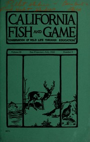 People of the state of california department of fish and for Department of fish and game california