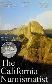 The California Numismatist (Fall 2004)
