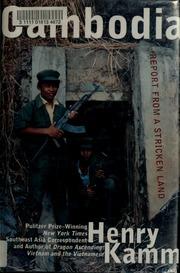 Cambodia: Report From a Stricken Land (Unabridged)