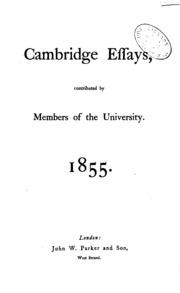 cambridge thesis archive