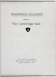 The Cambridge Sale