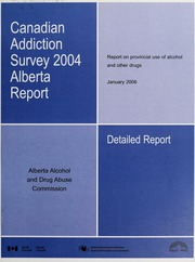 survey 2004 Alberta report : report on provincial use of alcohol ...
