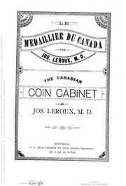 Le medaillier du Canada / the Canadian coin cabinet