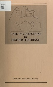 Care of collections in historic buildings, 1986