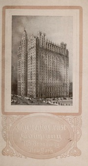 Carnegie Trust Company : 11...