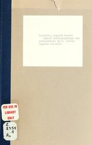 Carnet bibliographique des publications de M. labbé Auguste Gosselin. Petit souvenir à loccasion de ses noces dor sacerdotales, 30 sept., 1866-1916