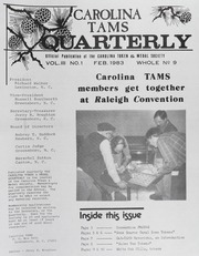 Carolina TAMS Quarterly: 1983
