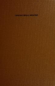 Catalog : Braille Magazines
