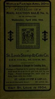 Catalog of mail auction sale no. 8. [04/20/1904]