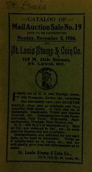 Catalog of mail auction sale no. 19. [11/05/1906]
