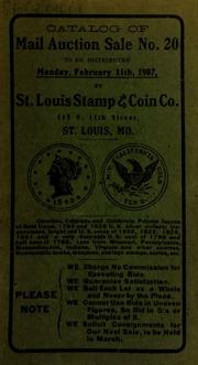 Catalog of mail auction sale no. 20. [02/11/1907]