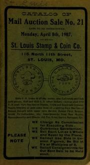 Catalog of mail auction sale no. 21. [04/08/1907]