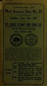 Catalog of mail auction sale no. 22. [06/10/1907]